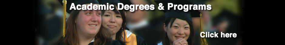 Academic Degrees and Programs