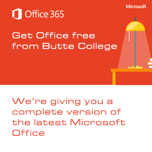 Current students get Microsoft Office for free