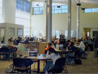 CAS Big Room with Students